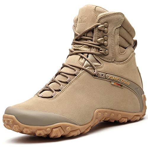 bd467579f51 Topway Mens High-Top Suede Safety Boots Tactical Combat Sports Non-slip  Boots delicate