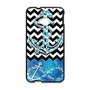 Happy Sailor Brand New And Custom Hard Case Cover Protector For HTC One M7