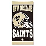 NFL Official New Orleans Saints 30 x 60 inch Cotton Beach Towel