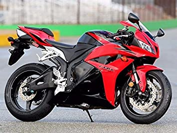 Amazon.com: Red Black Complete Fairing Injection for 2009-2012 Honda ...