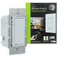 GE Z-Wave Wireless Smart Lighting Control Light Switch,...
