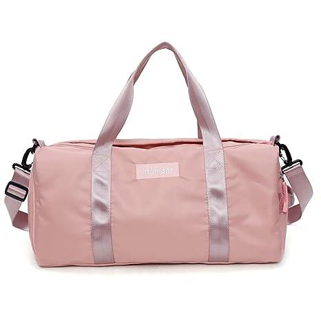 Amazon.com: Carriemeow Sports Gym Bag Female Yoga Bag ...