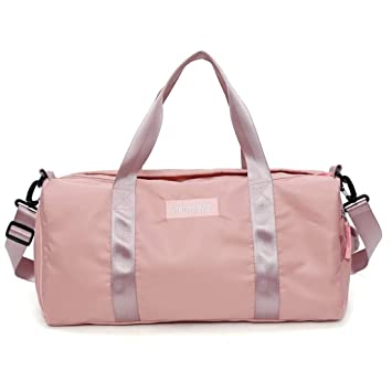 Amazon.com: Carriemeow Sports Gym Bag Female Yoga Bag ...