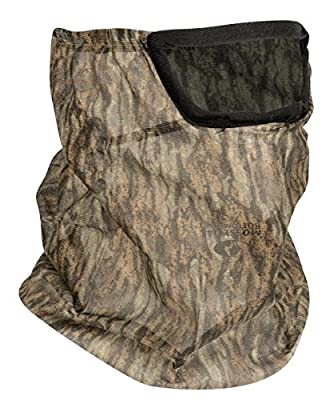 Mossy Oak Hunting Accessories 3/4 Bottomland MO-34-CH-BM Head Net With Mesh