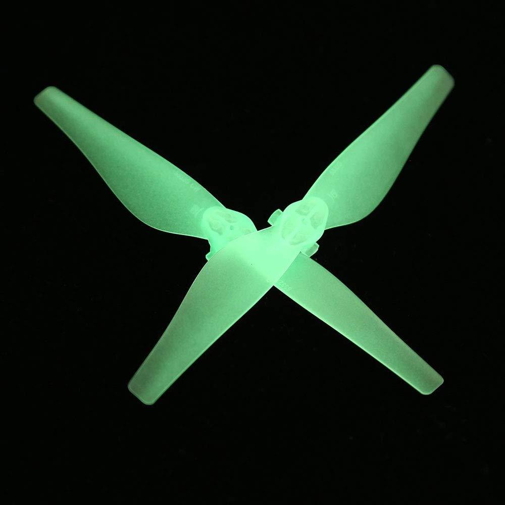Auntwhale 8PCS Luminous 5332S Drone Hélices para dji Mavic Air ...