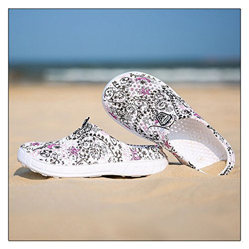 Slippers Star Womens Shoes Drying Sandals Mens Beach Quick Garden Mesh Black Clogs ZqOpnB0