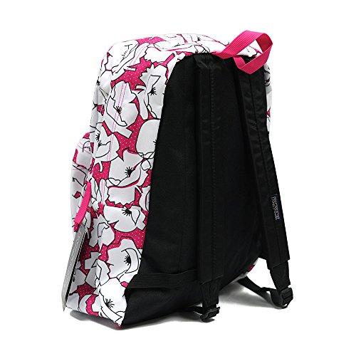 Cyber Sac Dos Block À Pink Superbreak t5010eg Floral Jansport BPIafqw5