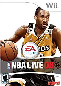 Video Game NBA Live 08 - Nintendo Wii Book