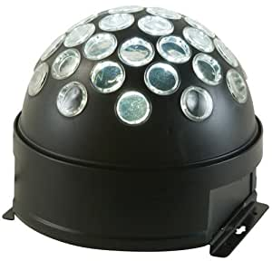 American Dj Starball Led Mirror Ball Simulator Effect Light Self Contained
