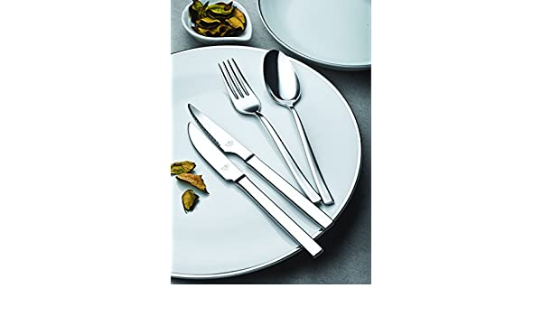 Amazon.com: idurgo Ainhoa Ref. 17000 Cutlery Set, Stainless Steel: Home & Kitchen