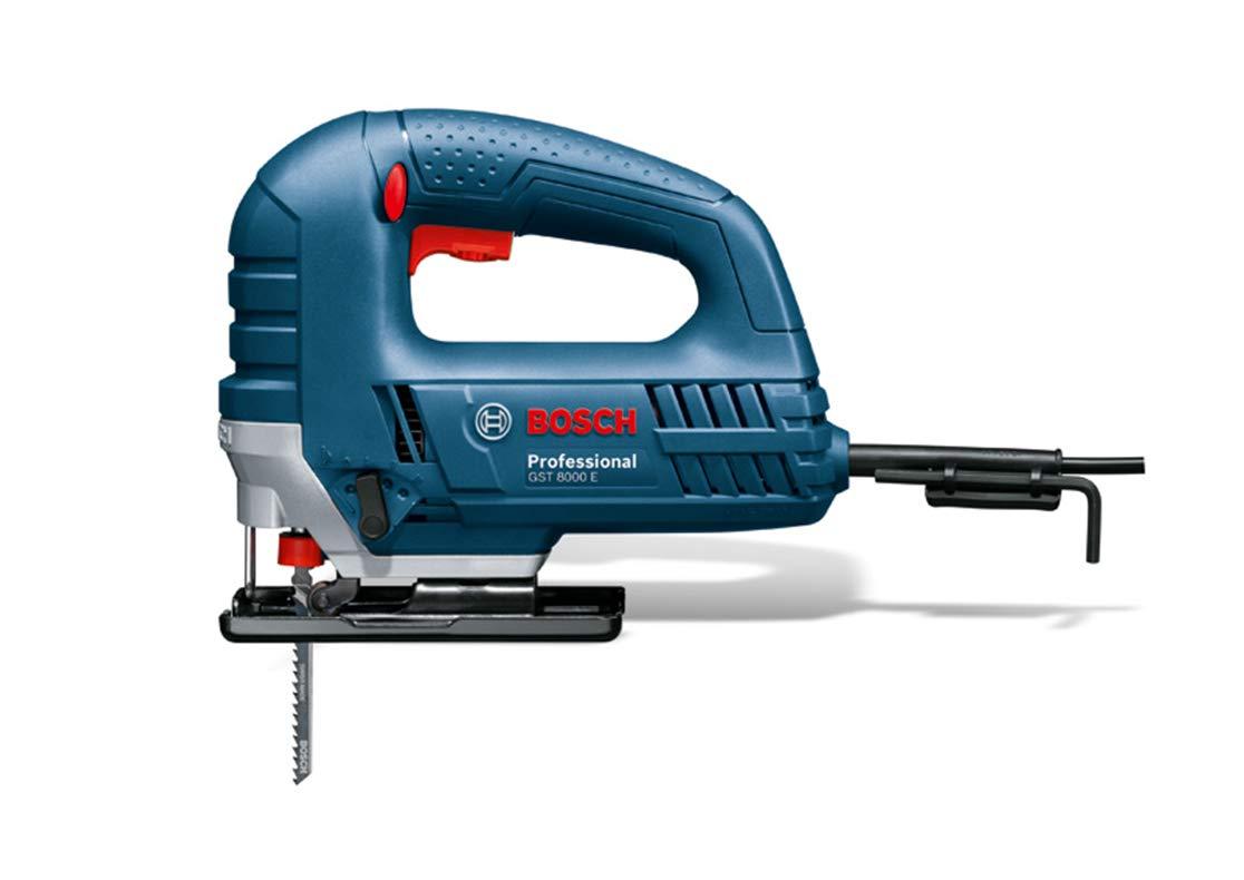 BOSCH 060158H000 - Sierra de calar GST 8000 E Professional. 710 W ...