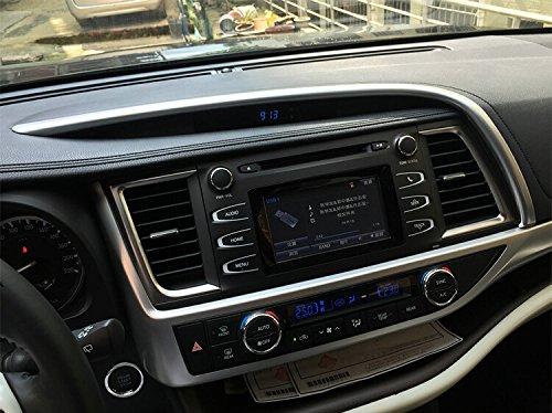 Fit For Toyota Highlander 2015 2016 2017 2018 2019 Matte Center Console Dashboard Moulding Trim