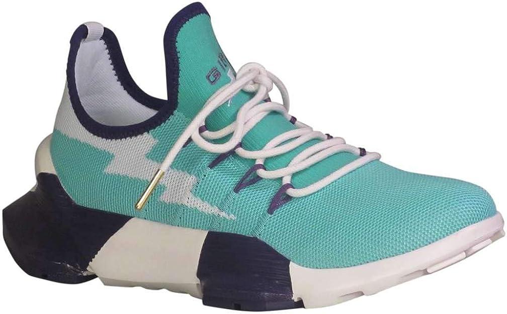 Giza Mythos - Zapatillas de Running para Mujer, Color Verde Azulado/Blanco/Morado, Azul (Teal/White/Purple), 37.5 EU: Amazon.es: Zapatos y complementos