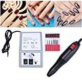 1 Set Nail Art Equipment Electric Manicure Drill Bits Tool Pedicure Machine Set