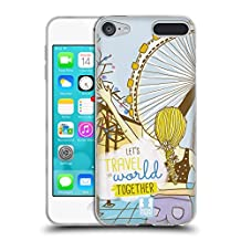 Head Case Designs Blonde My BFF Cases Soft Gel Case for Apple iPod Touch 6G 6th Gen