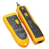 TopOne Wire Tracker RJ11 RJ45 Line Finder Cable Tester for Network Cable Collation, Telephone Line Test with Low Battery Capacity Indication