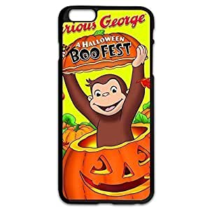 Curious George Protection Case Cover For Apple Iphone 4/4S Love Shell