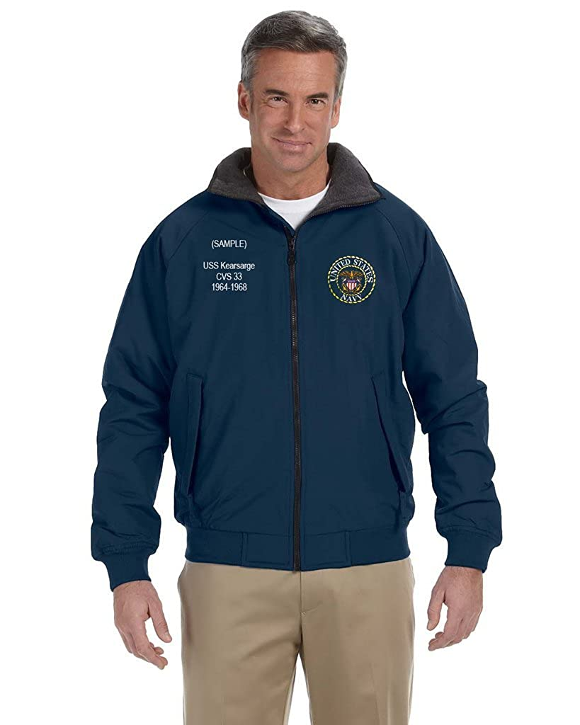 US Navy Custom Embroidered Personalized Cold Weather Classic Jacket