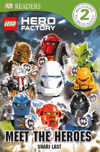 Download Meet The Heroes (Turtleback School & Library Binding Edition) (DK Readers: Level 2) pdf
