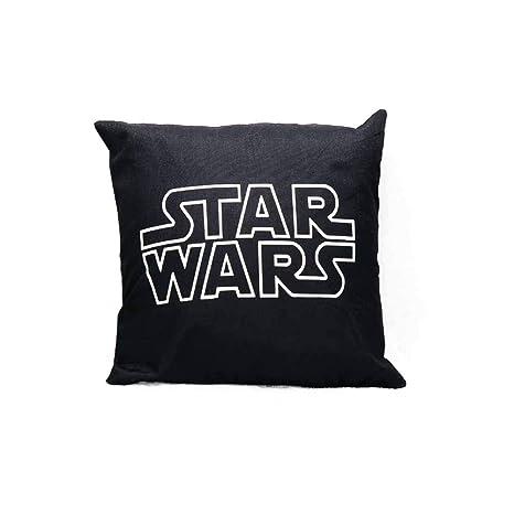 Funda de cojín de lino con diseño de Star Wars de 18 x 18 ...