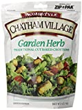 Chatham Village Garden Herb Croutons, 5-Ounce Bags (Pack of 12)