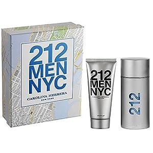 Carolina Herrera 212 2 Piece Men Gift Set, 3.4 Ounce