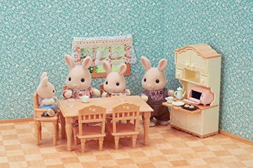 Sylvanian Families Mini Universal Dining Room Furniture 5340 Multi-Colour