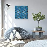 EZON-CH Square Canvas Wall Art Oil Painting
