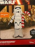 Star Wars Stormtrooper with Candy Cane Holiday Airblown Inflatable