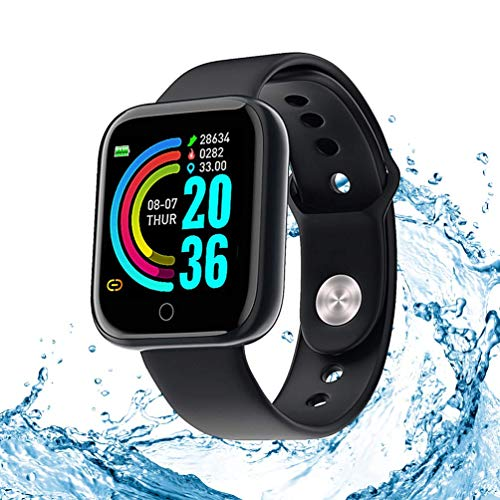 Smart Watch Fitnesstracker, activity tracker, 1,3 inch touch-fitnesstracker, hartslag- en slaapmonitor, meerdere…