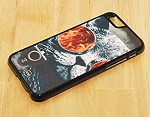 1888998353587 [Global Case] Crazy Cat Kitty Sunglasses Secret Service Fire Bullet Gun Shoot Blood Assassin Evil Hate Special Forces Flames (BLACK CASE) Snap-on Cover Shell for Xiaomi M4
