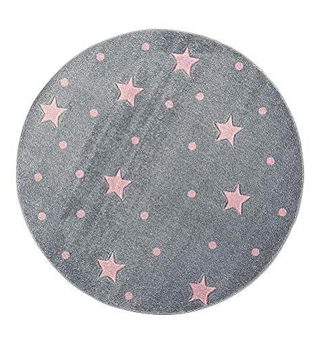 Amazon De Livone Kinderzimmer Baby Teppich Kinderteppich Punkte