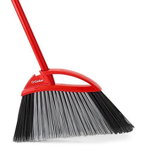 O-Cedar Power Corner Large Angle Broom - 100% Corn Broom