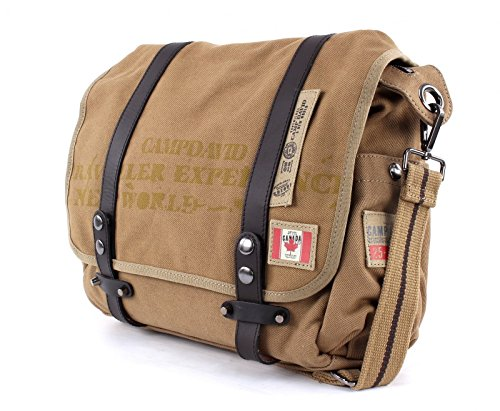 CAMP DAVID Rocky Mountain Messengerbag Sand