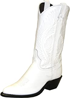 product image for Abilene Women's White Western Cowgirl Boot Round Toe