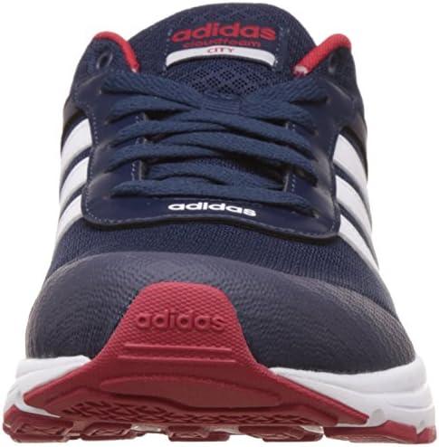Adidas AQ1345 Men's Cloudfoam VS City Shoes, Navy Blue/Red/White ...