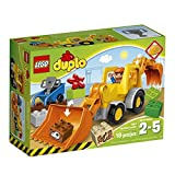 LEGO DUPLO Town 10811 Backhoe Loader Building Kit (19-Piece)