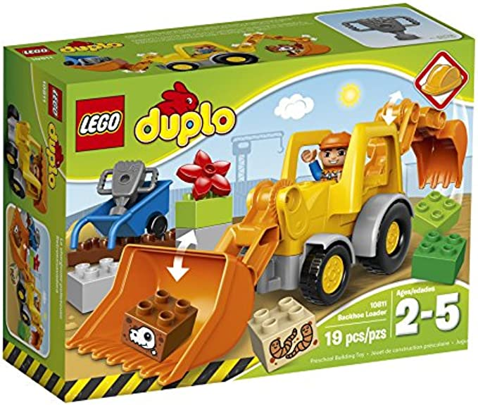 LEGO Duplo 10811 Town Backhoe Loader