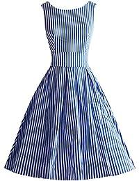 Kleid hellblau amazon