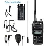 BaoFeng walkie talkie UV-82 8w High Power Dual Band Radio: 136-174mhz (VHF) 400-520mhz (UHF) Amateur (Ham radio) Portable Two-Way radio