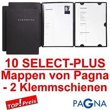 Mappen für Bewerbung PAGNA SELECT PLUS Bewerbungsmappen 3-teilig Zubehör