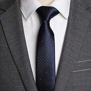 LFLJIE Hombres Corbatas 5cm Corbata Hombre Moda Jacquard Corbatas ...