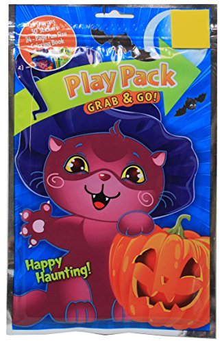 Play Pack Grab and Go Happy Haunting Halloween Party Favor Bag ()