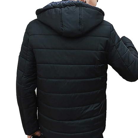 JYJM Herren Herbst und Winter Mantel Herren Jacke Jugend koreanische Version  des Trends der Tendenz der Wind Mit Kapuze dicken Männer Baumwoll Kleidung  ... b8d89f3810