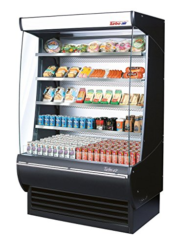 34.2cf Cap. Extra Deep Vertical Open Display Merchandiser