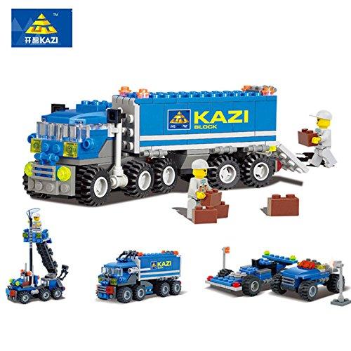 LLCity Big Truck Building Blocks Sets Model Bricks Toys for Children