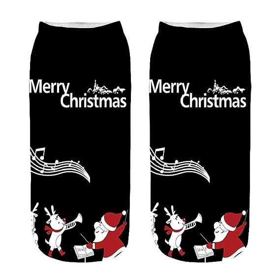 ... animados en 3D Imprimir moda de invierno divertido regalo de Navidad Novedad loco Loco increíble lindo algodón suave para mujer calcetines de tobillo A: ...