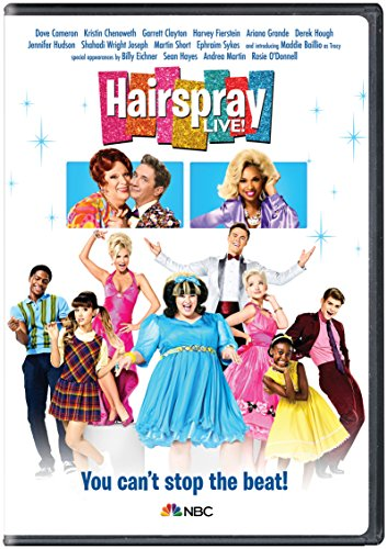 DVD : Hairspray Live! (Snap Case, Slipsleeve Packaging)