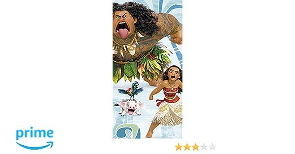 Disney Vaiana toalla de playa, wd17854, 140 x 70 cm: Amazon.es: Juguetes y juegos