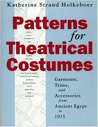 Cover of Patterns for Theatrical Costumes, direct link from Amazon.ca